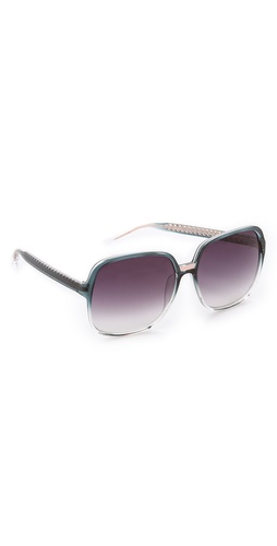 Matthew Williamson ombre sunglasses